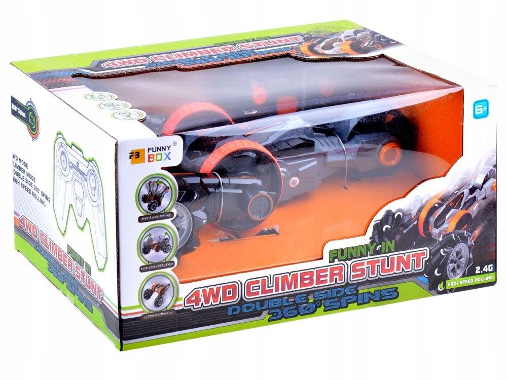 Auto wspinaczkowy Stunt 4WD na pilota RC0525 Certyfikaty, opinie, atesty CE EN 71