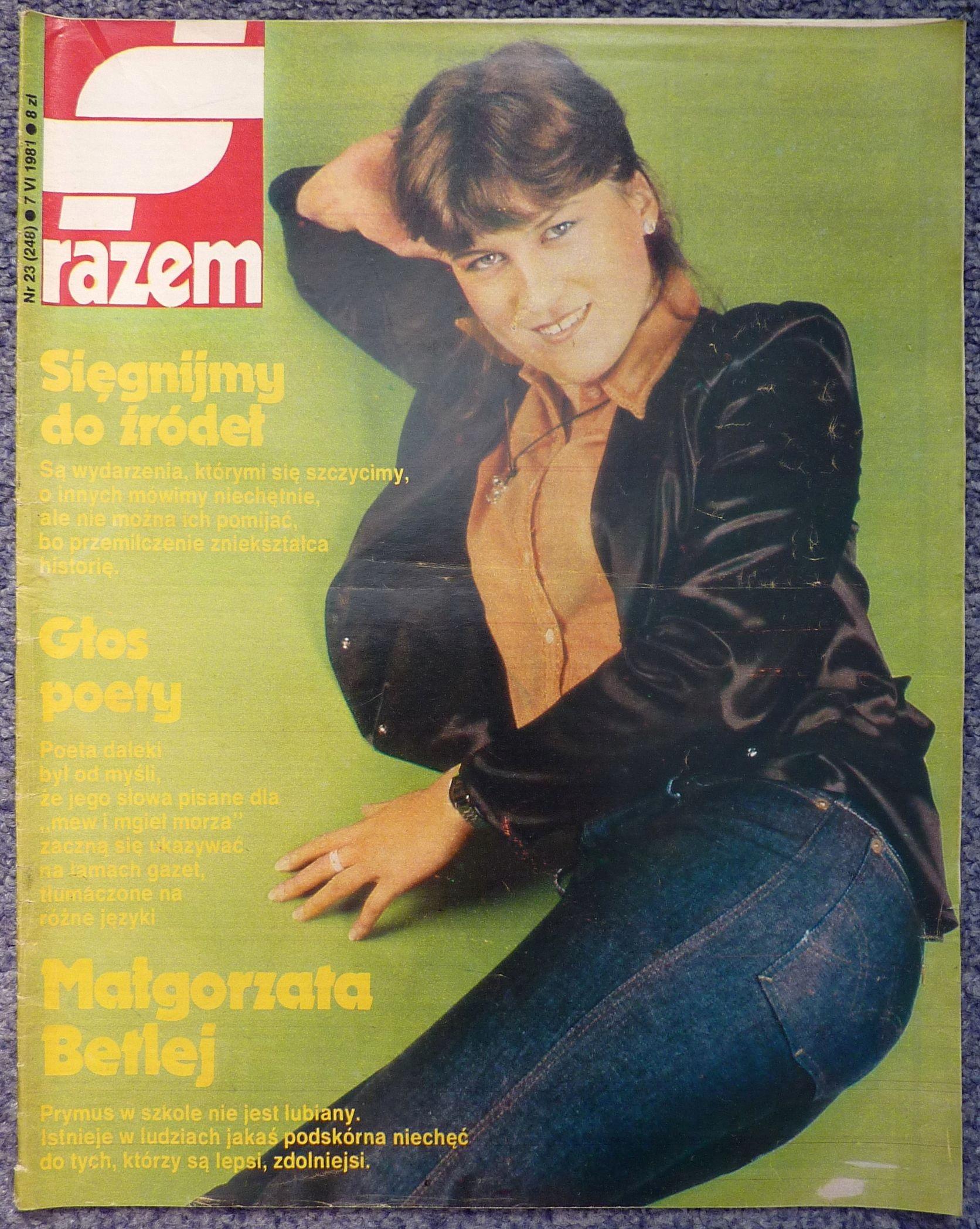 RAZEM tygodnik nr 23/1981