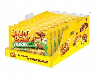 Конфеты Sun Rice Mini Crunchy Chocolates с рисом и орехами