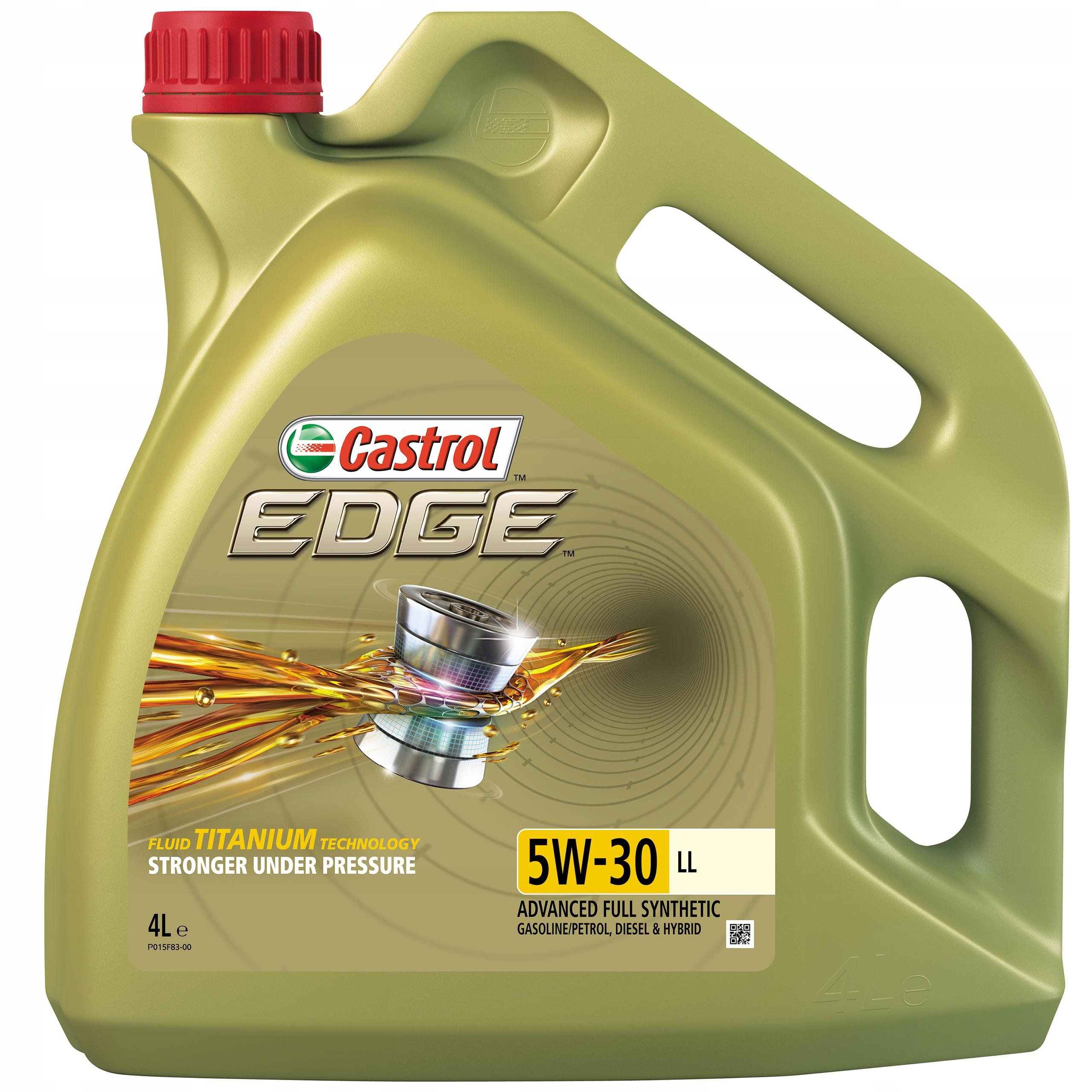 Castrol Edge TITANIUM FST 5W-30 LL PC 4L