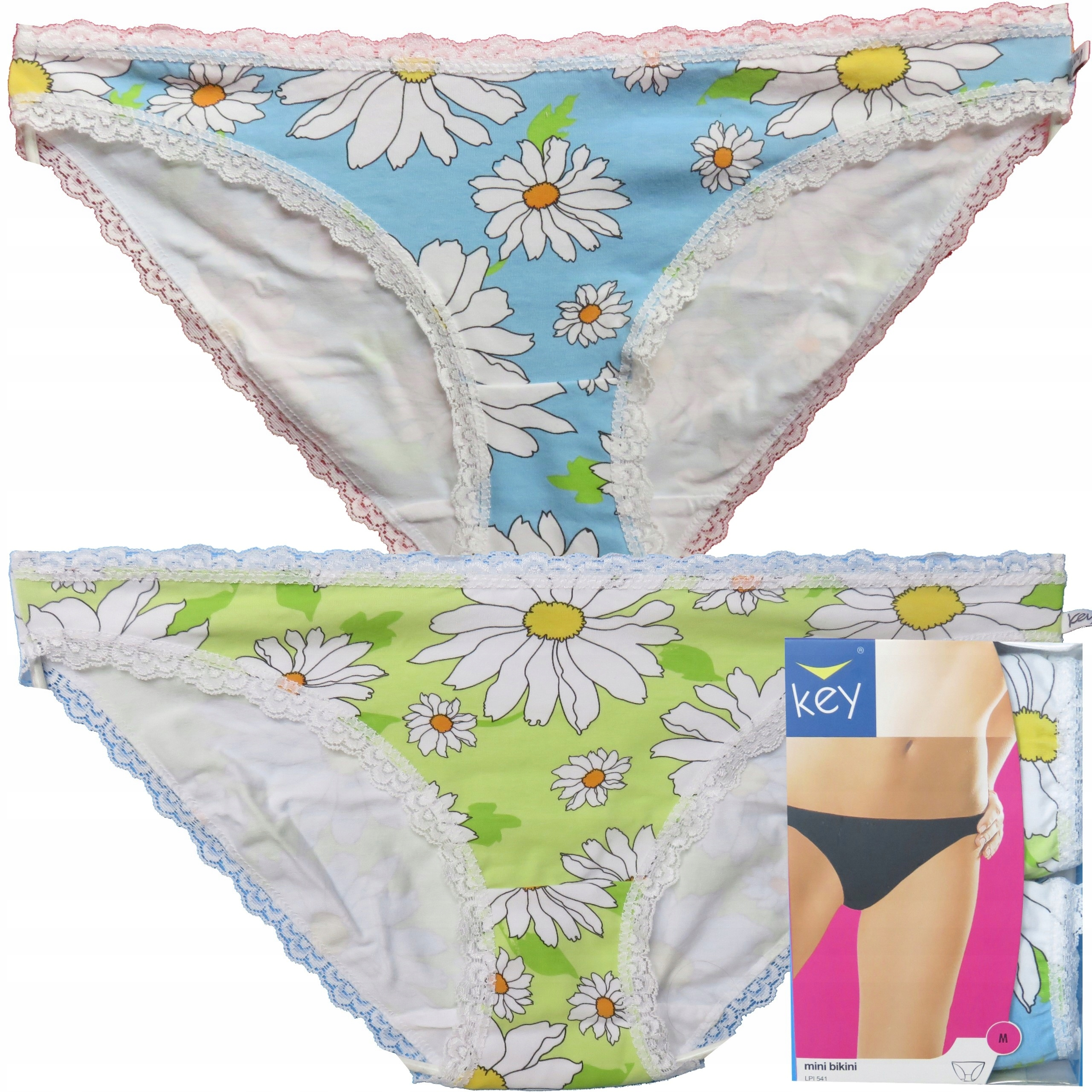 Key figi bikini Lpi 541 2-pak nieb/seledyn M