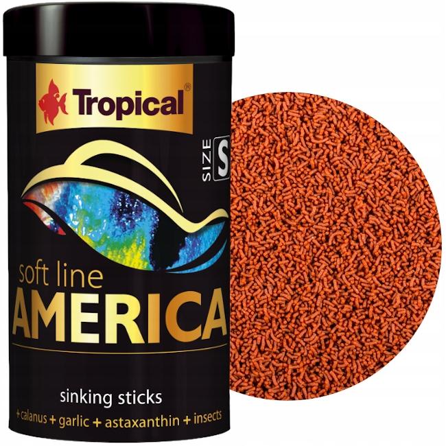 Tropical Soft Line America S 250ml корм премиум