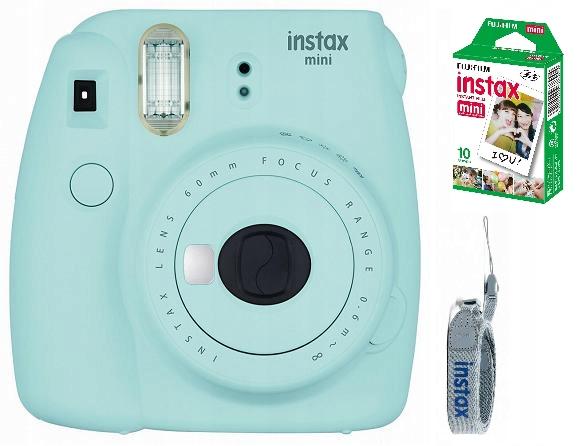 Item Fujifilm Instax Mini jasnoniebie 9+10 photos+free shipping