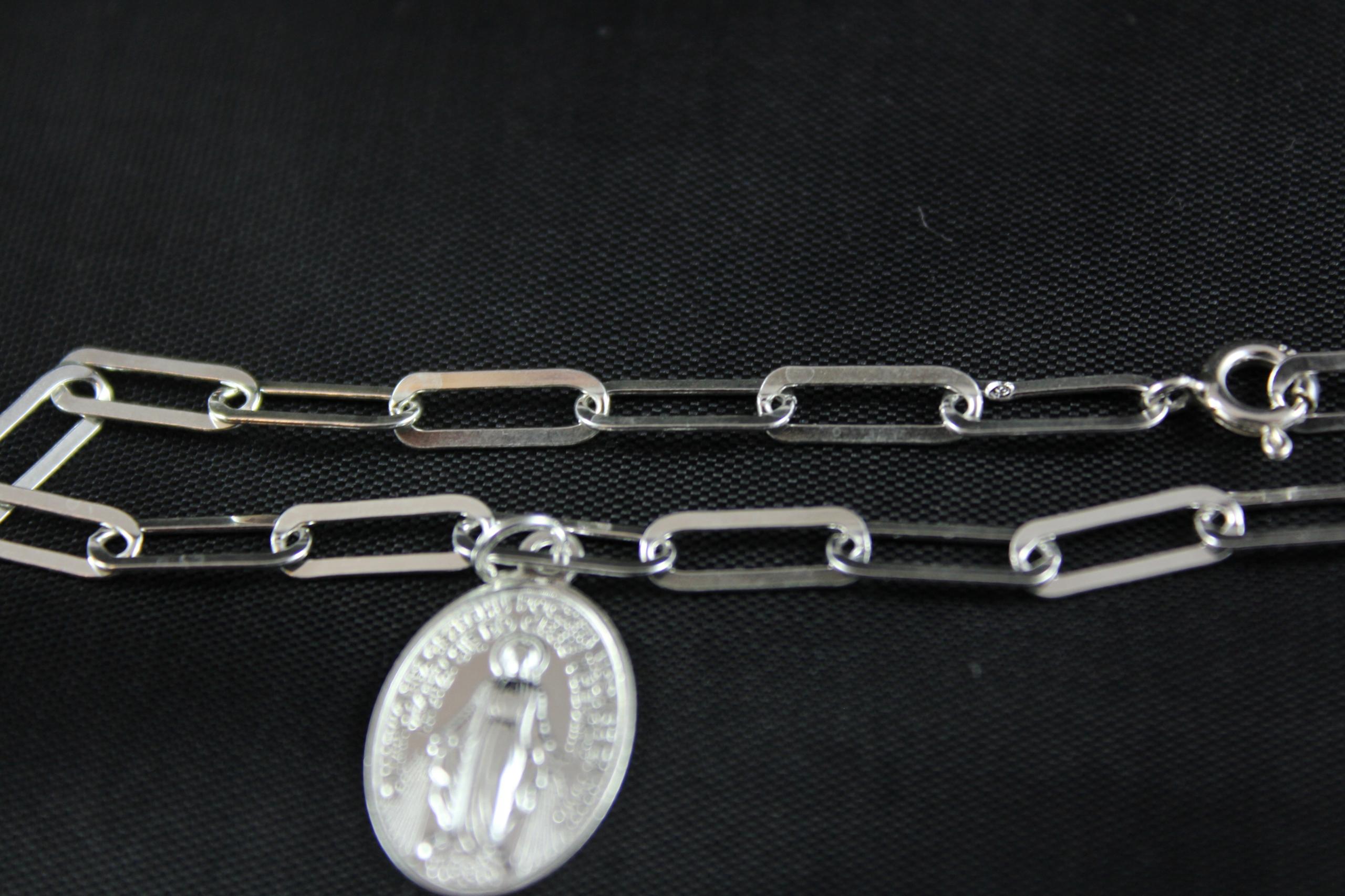 Bransoletka Zawierzenia Maryi srebro 3,0 g Rodzaj Srebrne