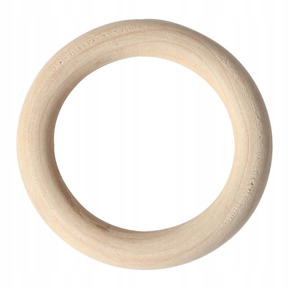 Деревянный круг из бука 55 мм для карнизов