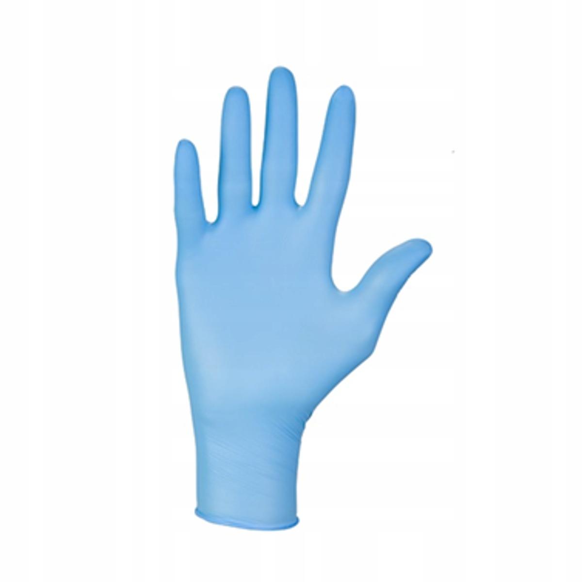 Rękawice hybrydowe hybrid+ niebieskie roz M 100szt Rodzaj winylowe