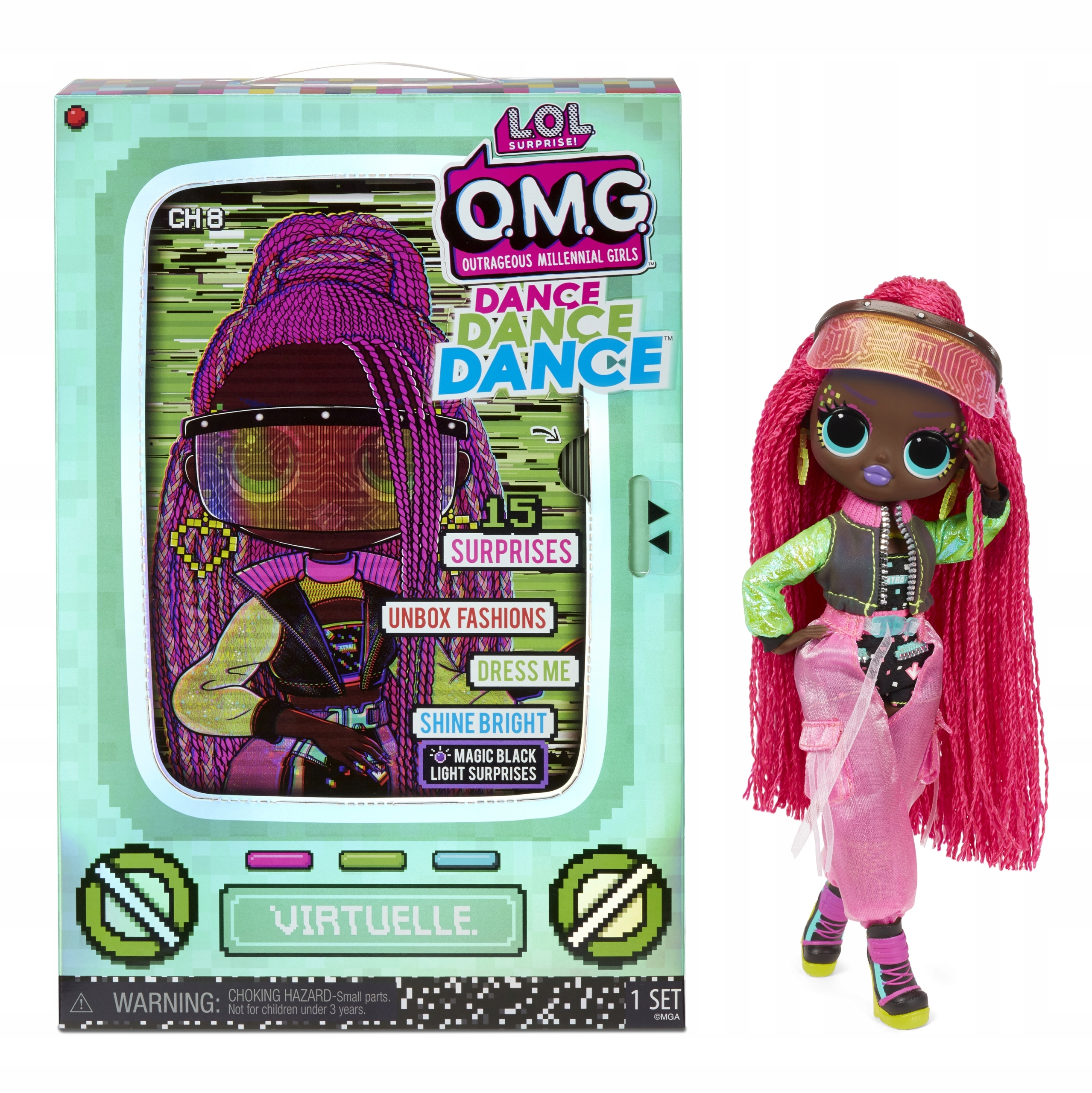 L.O.L. Surprise OMG Dance Doll- Virtuelle 117865