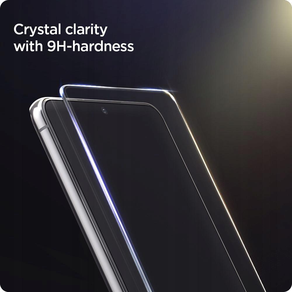 2x Szkło Hartowane Spigen do Galaxy S21 Plus 5G EAN 7713919305496