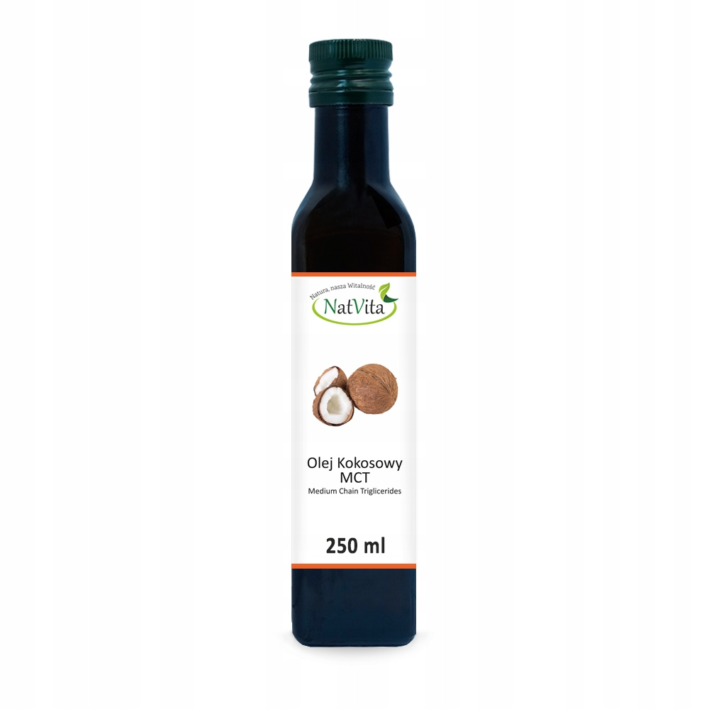 Olej MCT z kokosa 250ml NatVita