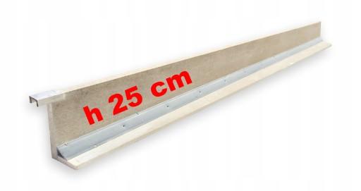 Szalunek tracony wieńca 25 cm, 1,25 m