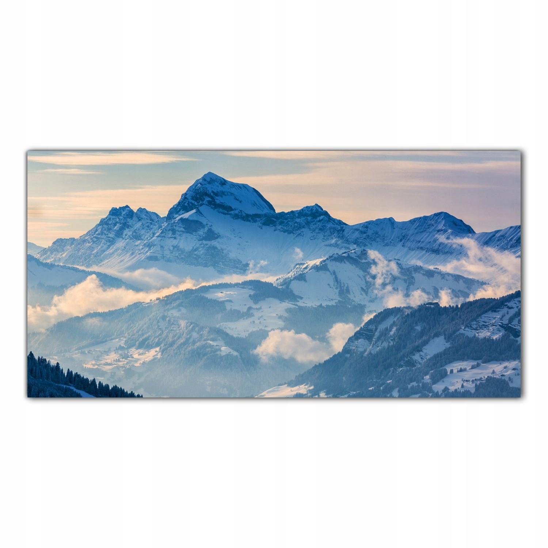 Zima Góry Krajobraz 140x70 Kuchnia panele szklane