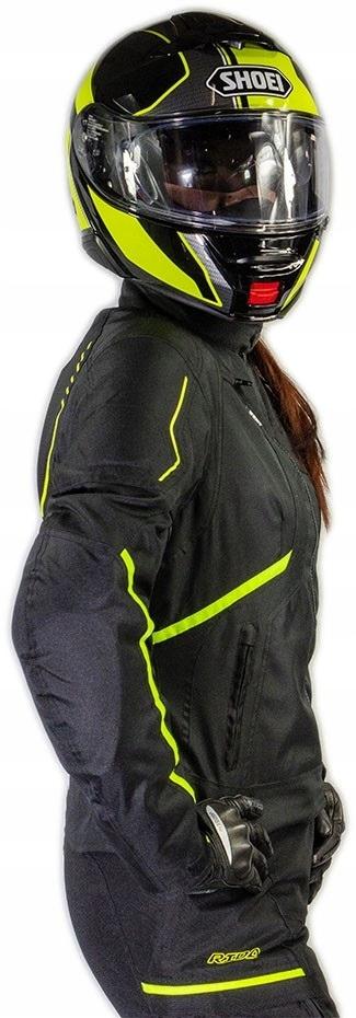Кожанная куртка мотоциклетная женская lady sportowa, фото 2
