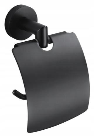 Držiak na toaletný papier čierny STELLA 07.440-B