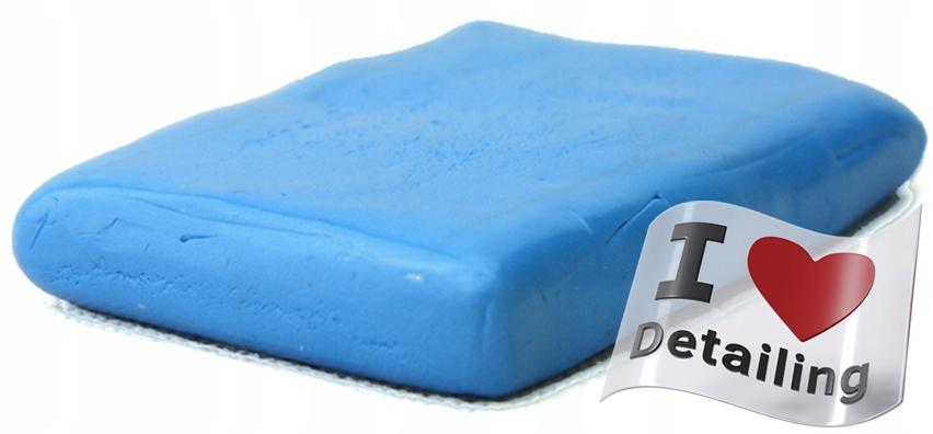 Лаковая глина - синяя глина бар - средний - 100 г