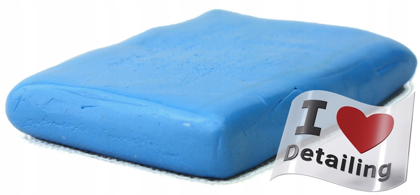 Глина для Лака - Blue Clay Bar - Средняя - 100 г