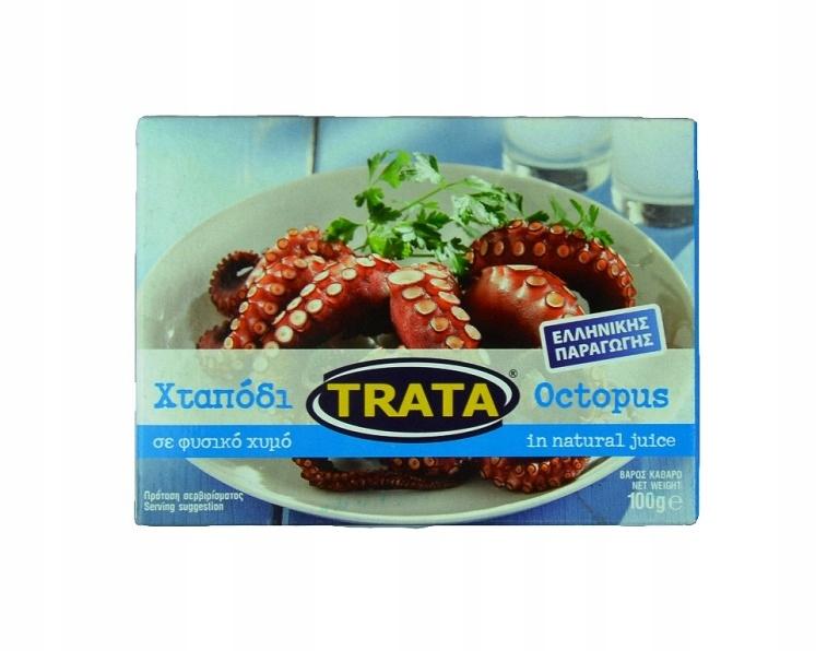 Греческий осьминог в натуральном соусе 100 г