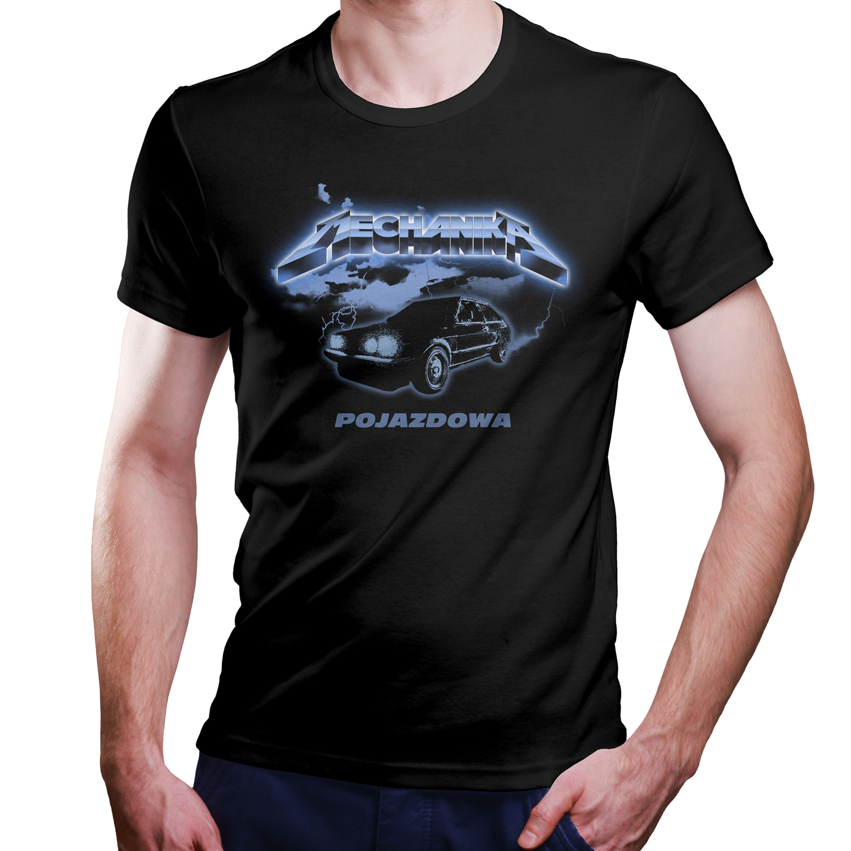čierne tričko mechanik XS - 5XL