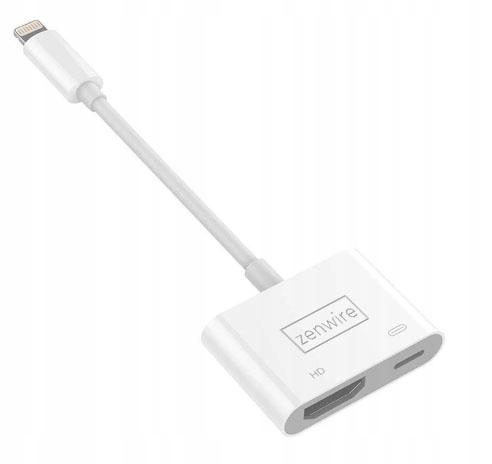 PRZEJŚCIÓWKA Adapter AV Lightning HDMI iPhone iPad