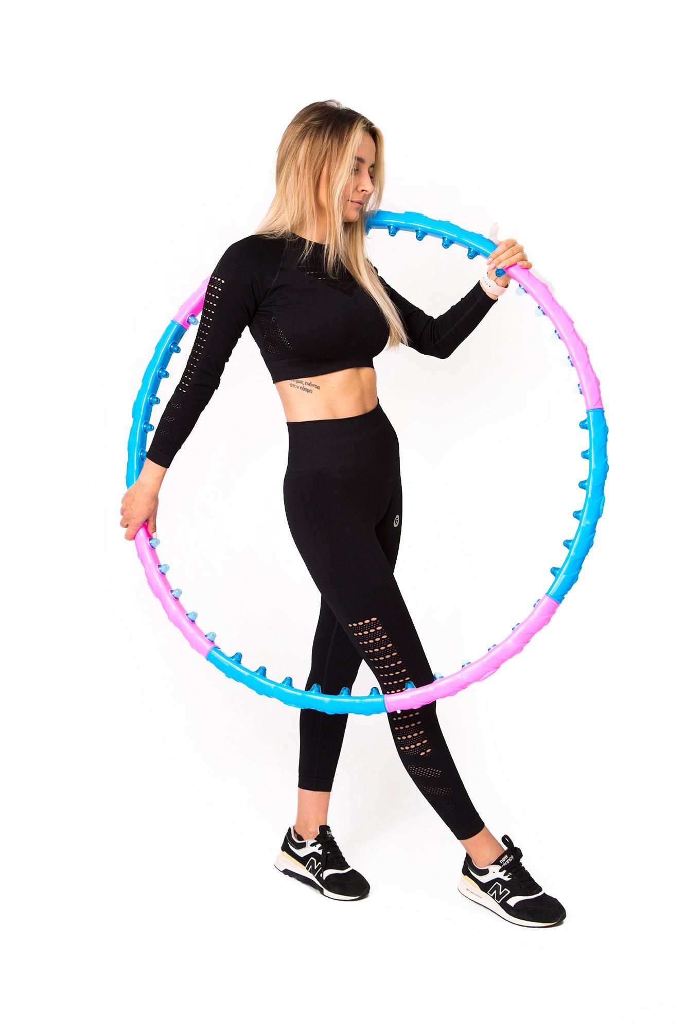 Odchudzające HulaHop Koło Składane Hula Hoop Masaż Marka Inna marka