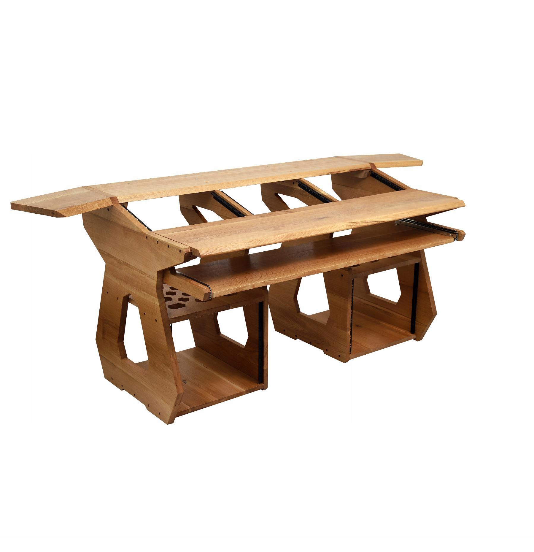 Item Desk Studio oak ash 19 rack 36U studio