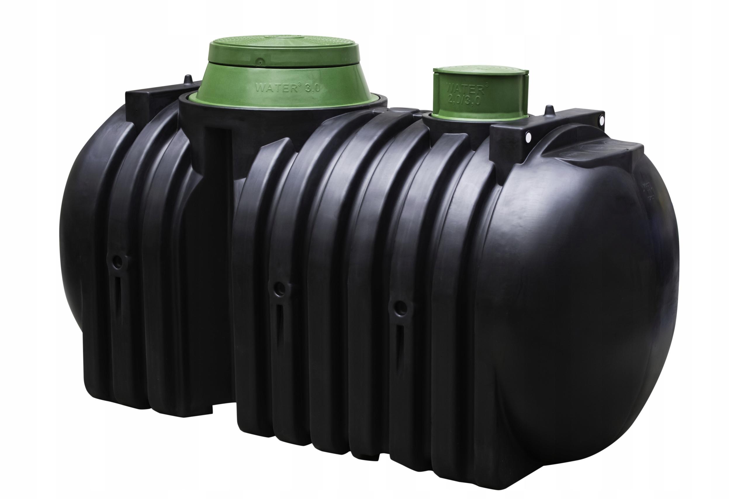 Dwukomorowy Zbiornik Szambo Ekologiczne 3000 L 7196724046 Allegro Pl