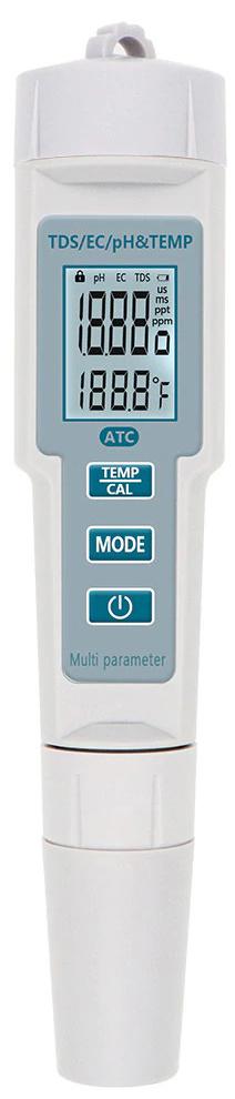 TDS EC Temp 4in1 pH-тестер для определения жесткости воды