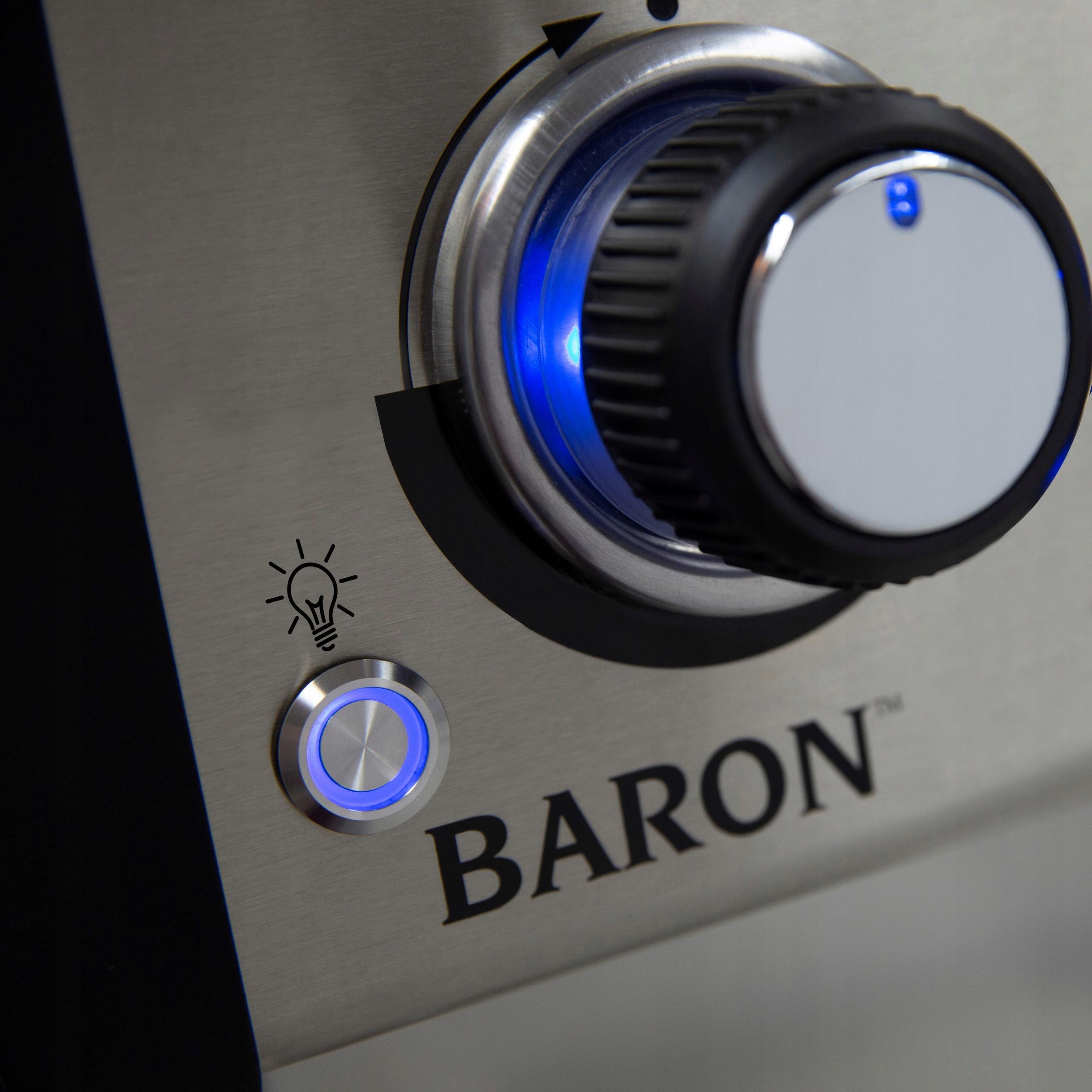 Broil King Grill Gazowy Baron 490 z kuchenką Wysokość grilla 117 cm