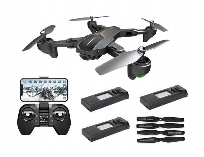 Dron Visuo XS812 812G-W-4K GPS 5G WiFi FPV 3 AKU