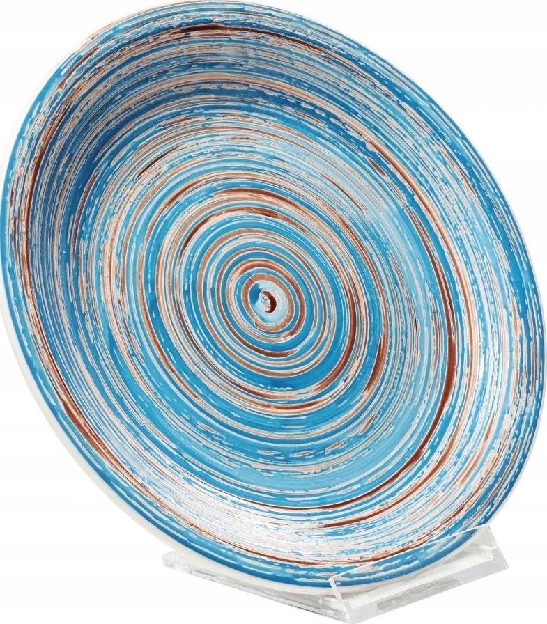 Тарелка Swirl Ø19 см синяя, мебель