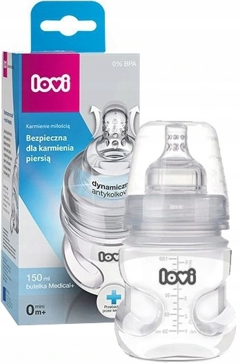 LOVI MEDICAL + BOTTLE 150ML 0M + соска SUPERVENT