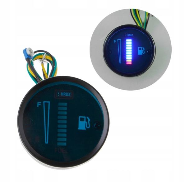 цифровой измеритель индикатор топлива led dc12v motor