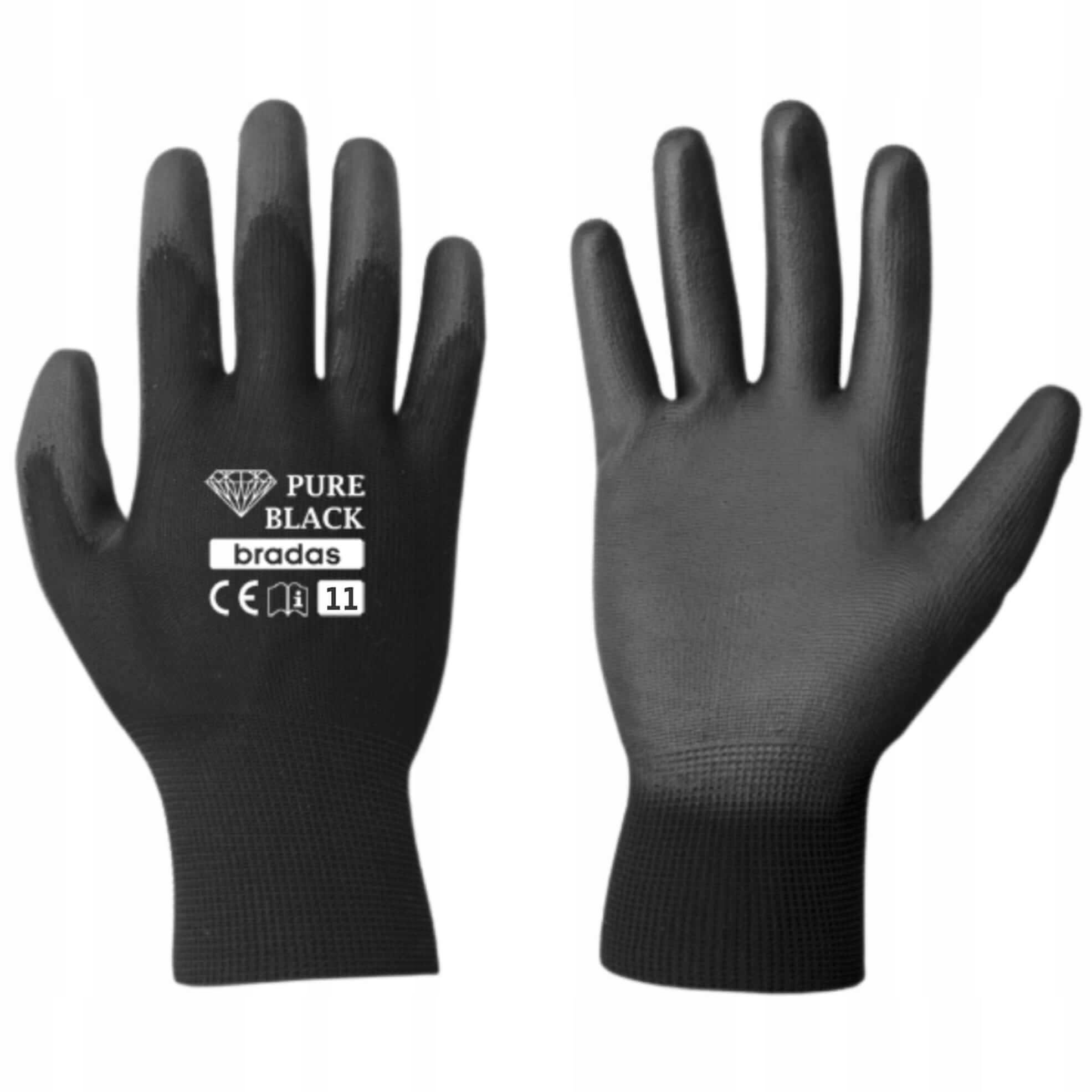 Перчатки BRADAS, защитные рабочие перчатки размер 11