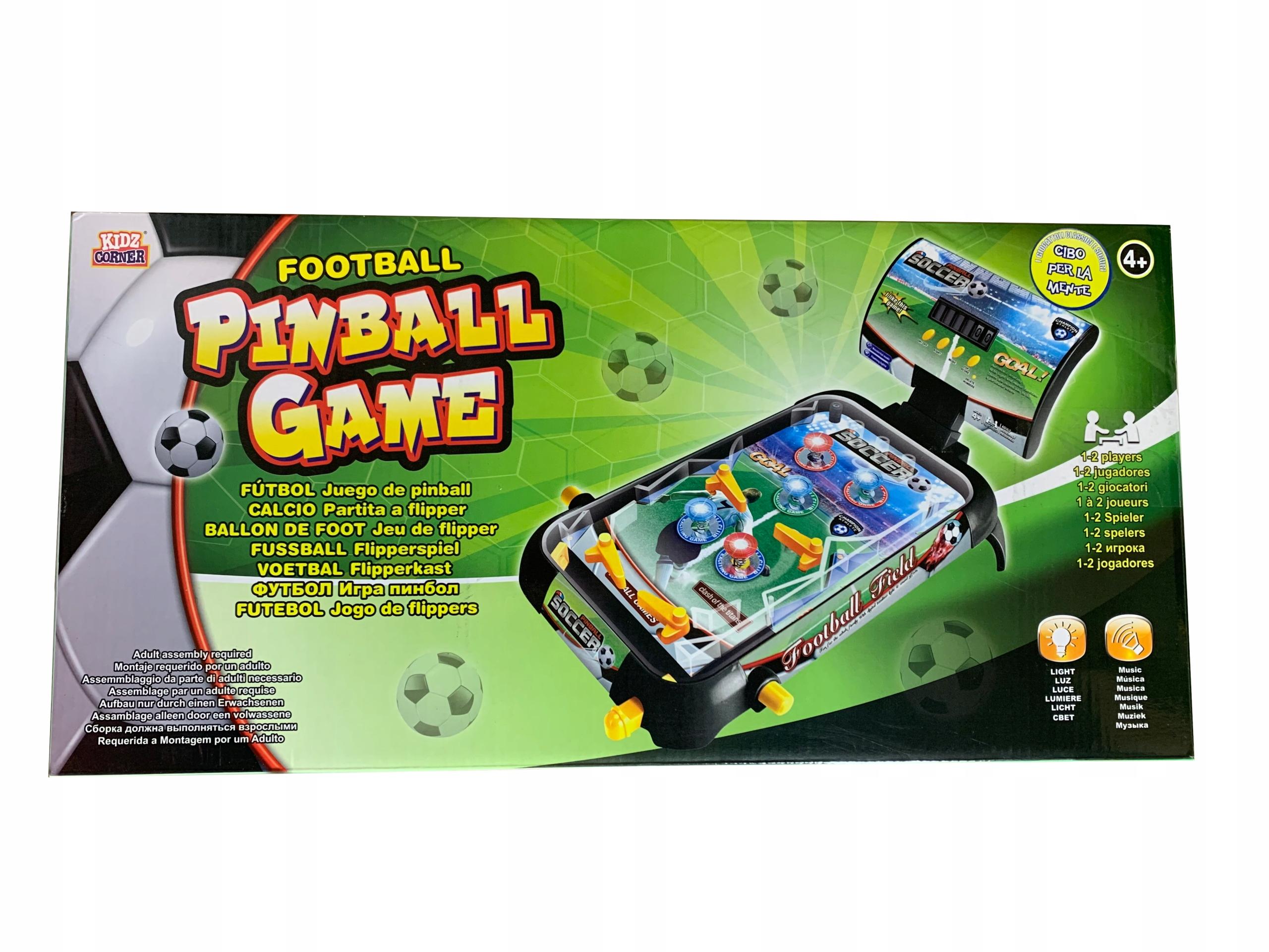 Kidz Corner Flipper Pinball hra Arkádová hra