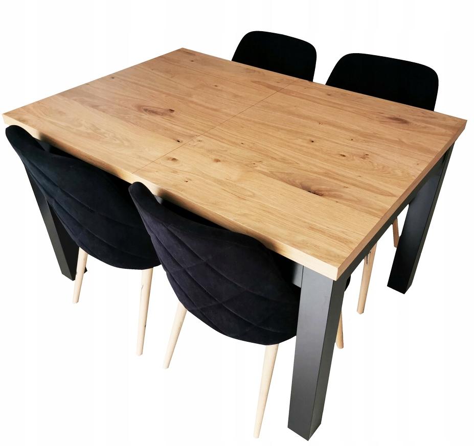 stół 120 x 80 rozkładany do 320 cm Loft Fornir !