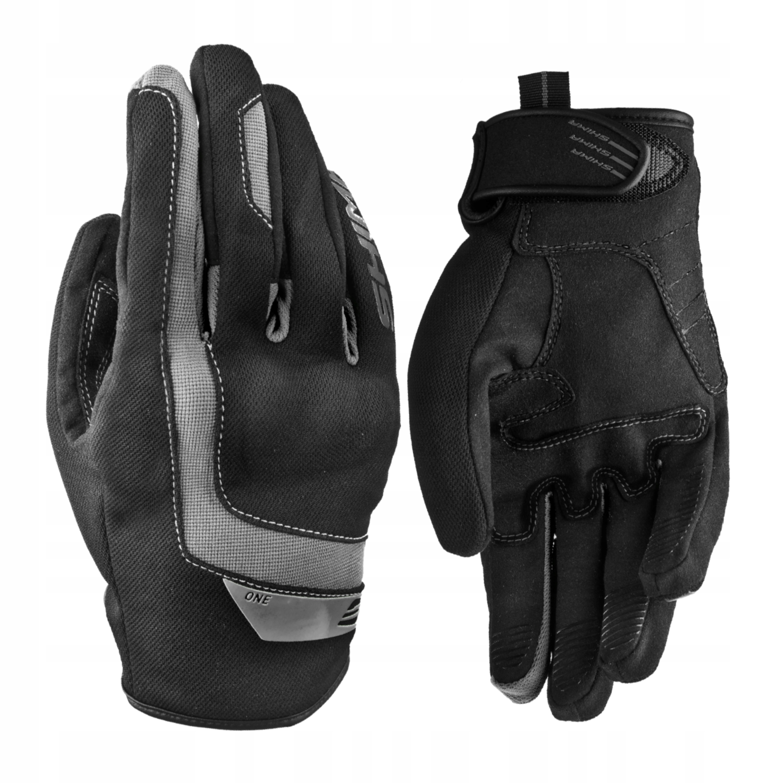 SHIMA ONE BLACK Rękawice motocyklowe lato GRATISY