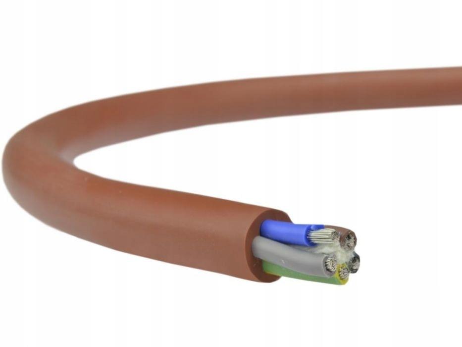 Силиконовый кабель для сауны SIHF 5x4,00 мм2