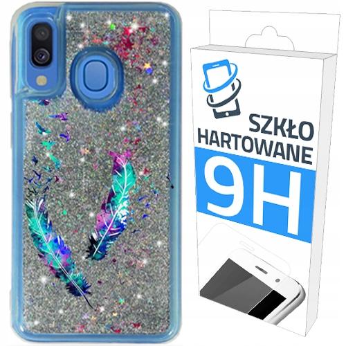 Etui Brokat+szklo do Samsung Galaxy A40 Obudowa