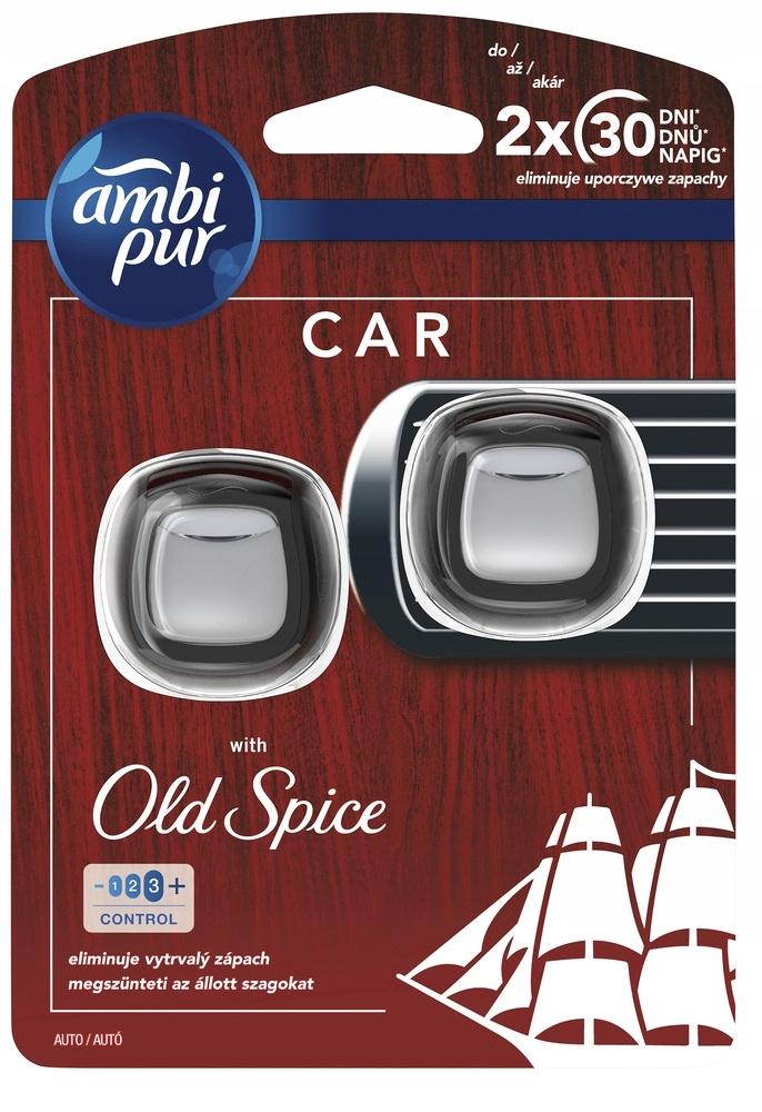 AMBI PUR Освежитель воздуха для автомобилей 2x2ml OLD SPICE