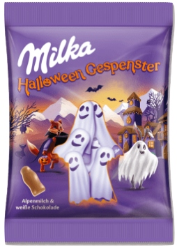 Milka Halloween Duszki 120г из Германии