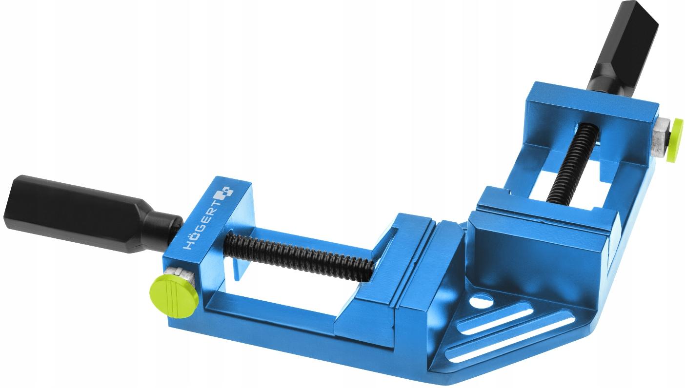 HOGERT Ścisk kątowy stolarski 75mm HT3B960 kąt 90°