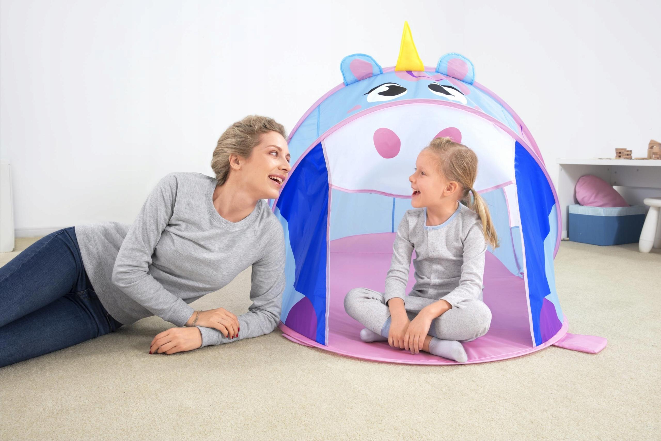 NAMIOT dla dzieci JEDNOROŻEC do domu, ogrodu DOMEK Marka Bestway