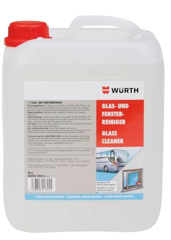 WURTH Środek czyszczący do szkła okien i szyb 5L