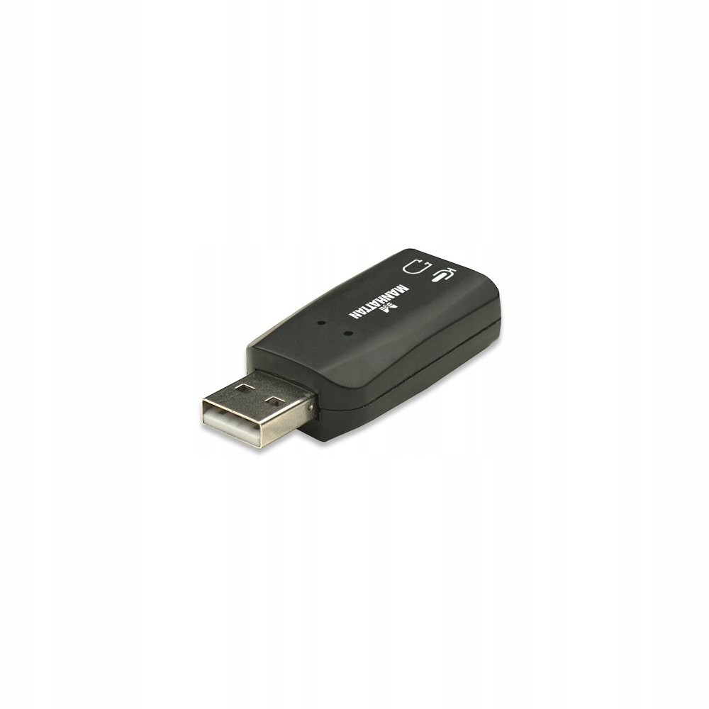 Купить Звуковая карта MANHATTAN Hi-Speed USB 3-D на Otpravka - цены и фото - доставка из Польши и стран Европы в Украину.