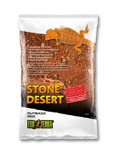 EXOTERRA púšti Kameň 20kg ČERVENÁ OUTBACK hliny
