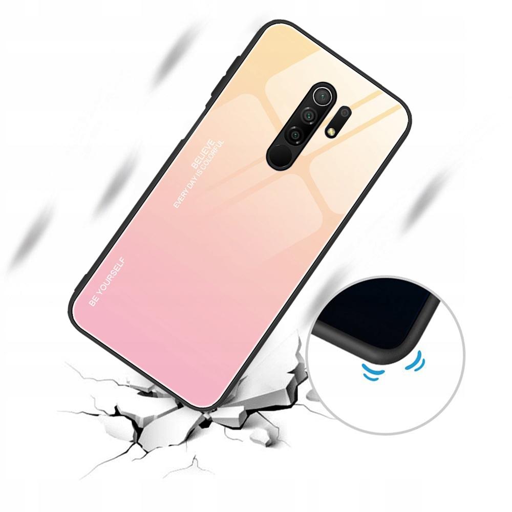 Etui do Xiaomi Redmi 9 Case Glass + Szkło 9H Kod producenta M14A