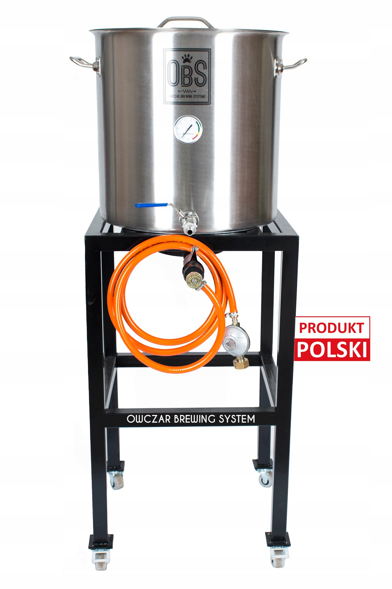 OBS Taboret gazowy 7,5kW + garnek 25l piwo domowe