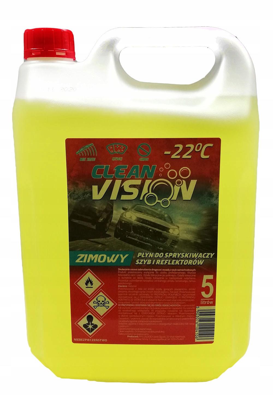 Зимняя омывающая жидкость 5 л Только метанол FV