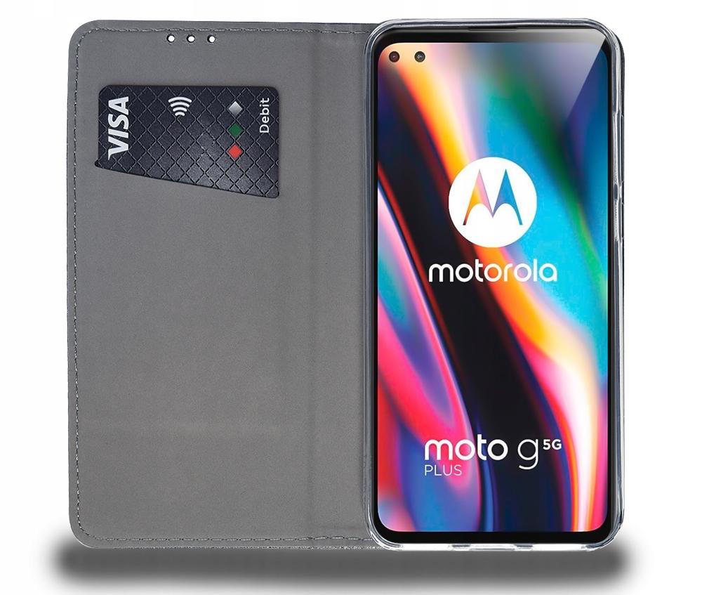 Etui do Motorola Moto G 5G Plus Case Magnet +Szkło Kod producenta N51