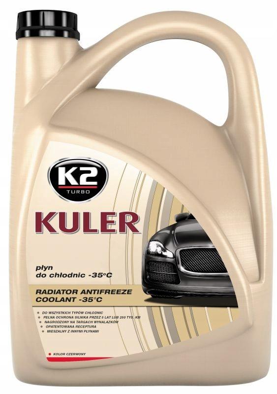 K2 KULER COOLER LIQUID -35C RED G12 5L