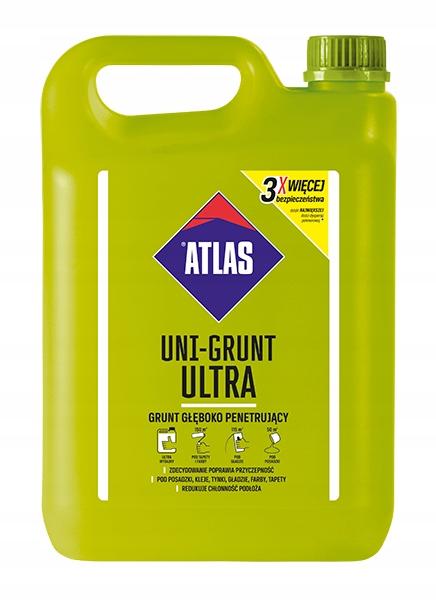 Atlas UNI-GRUNT ULTRA 5L głęboko penetrujący
